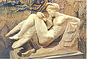 Florence Italy Bargello Ammannati Leda with the Swan cs3271 (Image1)