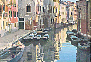 Venice, Italy A Canal (Image1)
