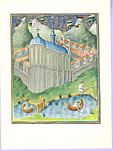 Story Of Saint Bruno And The Grande Chartreuse Postcard Cs3303