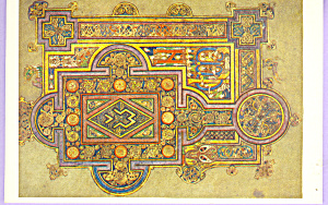 Book ok Kells, Gospel of St Luke (Image1)