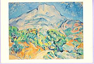 Mont Ste  Victoire Paul Cezanne Postcard cs3312 (Image1)