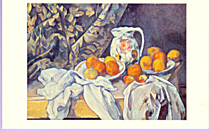 Still Life Paul Cezanne Postcard cs3313 (Image1)