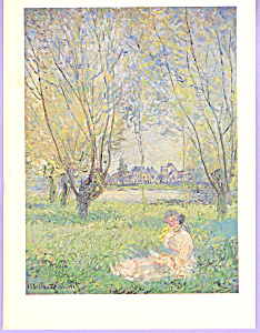 Woman Seated Under the Willow Claude Monet (Image1)