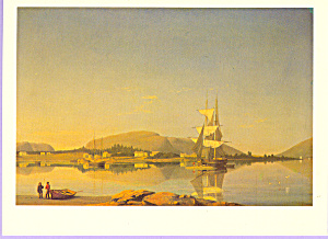 Entrance of Somes Sound Fitz Hugh Lane Postcard cs3325 (Image1)