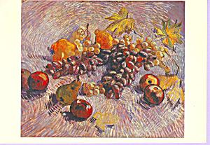 Still Life  Fruit Vincent Van Gogh Postcard cs3332 (Image1)