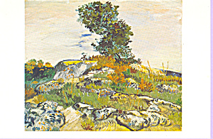 The Rocks Vincent Van Gogh Postcard cs3336 (Image1)