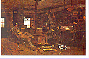 The Country Store Winslow Homer Postcard cs3345 (Image1)