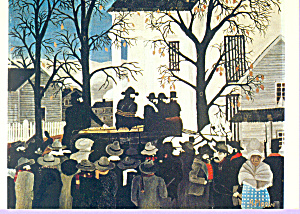 John Brown Hanging Horace Pippin Postcard cs3364 (Image1)