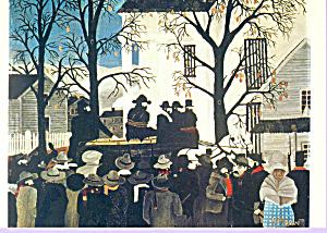 John Brown Hanging Horace Pippin Postcard cs3364 (Image1)