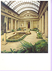 Garden Court Postcard Cs3372