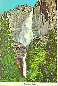 Yosemite Falls Yosemite National Park California cs3411 (Image1)