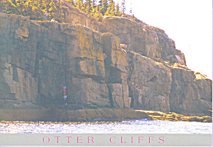 Otter Cliffs Maine Postcard cs3440 (Image1)