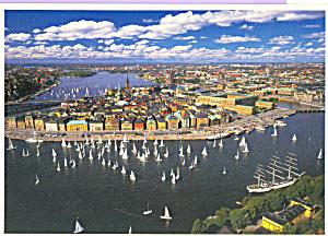 Sailing Boats in Harbor cs3462 (Image1)