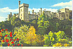 Lismore Castle County Waterford Ireland Postcard Cs3463