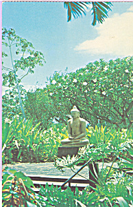 Buddha Mauna Kea Beach Hotel Hawaii Postcard cs3482 (Image1)