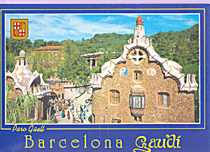 Guell Park, Barcelona,Spain (Image1)