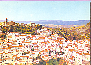 Aerial View of Casares Spain cs3514 (Image1)