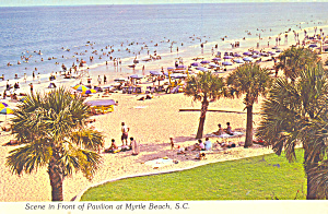 View of Beach from Pavilion Myrtle Beach SC cs3519 (Image1)