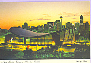 Night Lights Calgary Alberta Canada cs3548 (Image1)