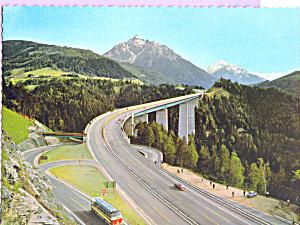 Brennerautobahn,Innsbruck, Austria (Image1)