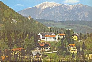 Villenviertel gegen Schneeberg 2075 m Austria cs3572 (Image1)