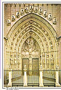 Lions Door  Toledo Spain Cathedral cs3595 (Image1)