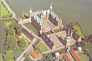 Frederiksborg Castle Denmark Postcard cs3623 (Image1)