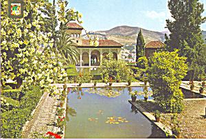 Granada Spain Alhambra Partal Gardens cs3657 (Image1)