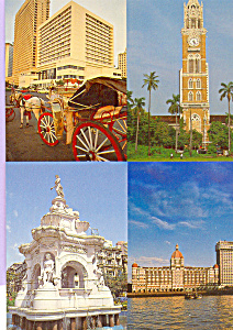 Landmarks of  Bombay India (Image1)