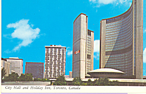 City Hall and Holiday Inn, Toronto,Ontario Canada cs3723 (Image1)