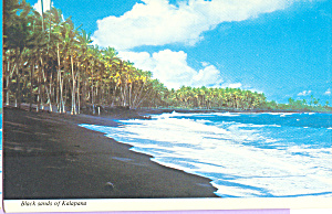Black Sands of Kalapana Beach Hawaii cs3753 (Image1)