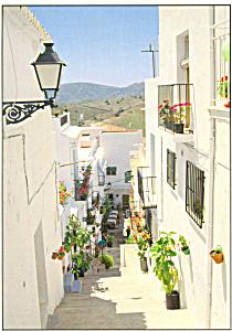 Frigiliana Spain Postcard cs3772 (Image1)