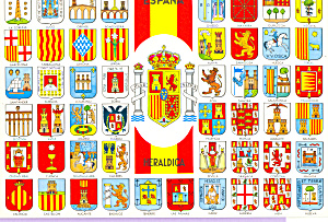 Spain Provincial Shields Postcard cs3793 (Image1)