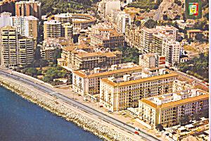 Partial Aerial View Malaga Costa del Sol Spain cs3811 (Image1)
