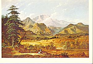 View of Pikes Peak George Caleb Bingham Postcard cs3858 (Image1)