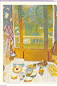 The Breakfast Room Pierre Bonnard Postcard cs3864 (Image1)