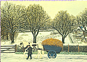 Feeding Time  Ada Currie Postcard cs3873 (Image1)