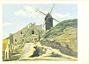 Mill in Montmartre Postcard cs3887 (Image1)