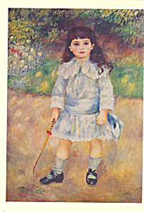 Child with a Whip Pierre Auguste Renoir Postcard cs3893 (Image1)