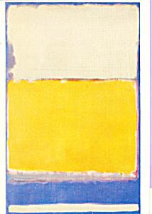 Number 10  Mark Rothko Postcard cs3894 (Image1)