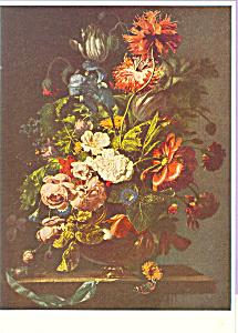 Flowerpiece Rachel Ruysch Postcard cs3897 (Image1)