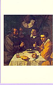 The Repast Diego de Silva y Velazquez Postcard cs3900 (Image1)
