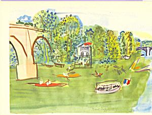 Nogent le Perreaux  R Dufy Postcard cs3910 (Image1)