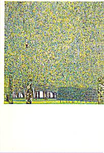 The Park Gustav Klimt Postcard cs3925 (Image1)