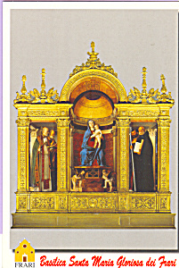 Basilica Santa Maria Gloriosa dei Frari Postcard cs3926 (Image1)