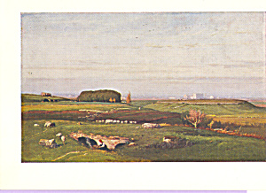 The Roman Campagna George Inness Postcard cs3938 (Image1)