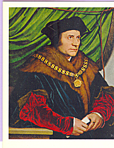 Sir Thomas More Hans Holbein the Younger Postcard cs3945 (Image1)