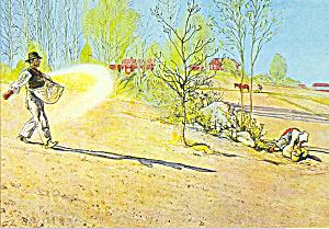 Sadden Carl Larsson Postcard cs3969 (Image1)