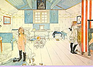 Mammas och smaflickornas rum, Carl Larsson (Image1)