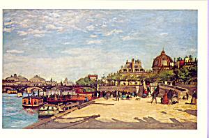 Le Pont des Arts Pierre Auguste Renoir Postcard cs3976 (Image1)